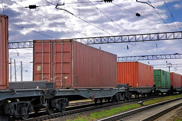 حمل و نقل ریلی کالا