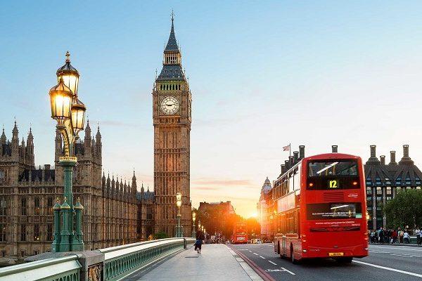 ارسال بار به لندن