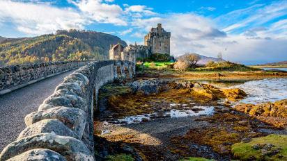 ارسال بار هوایی به اسکاتلند